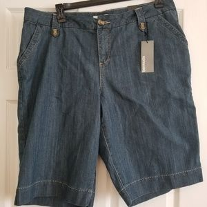 LB Denim Bermuda Shorts